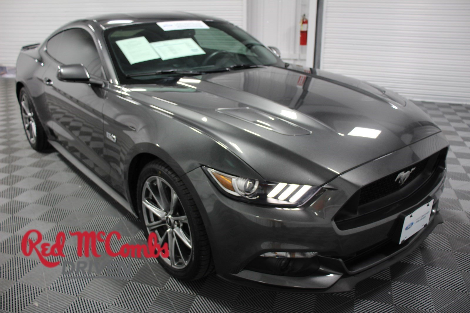 Certified pre owned 2015 ford mustang gt premium