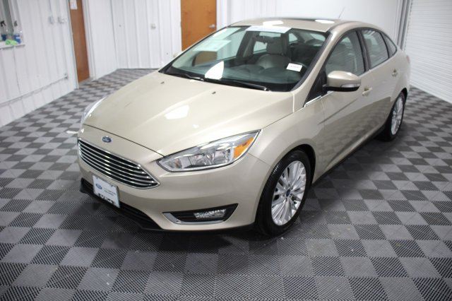Certified Pre-Owned 2018 Ford Focus Titanium