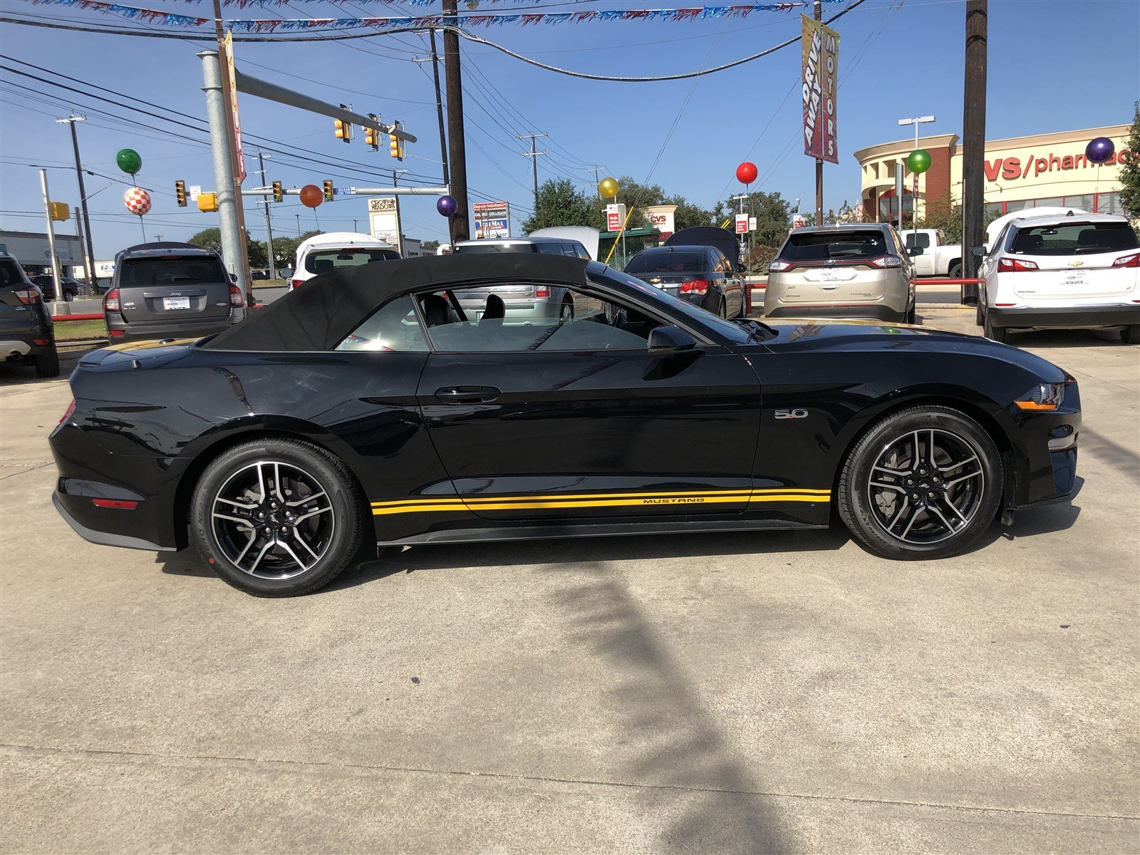 Pre Owned 2018 Ford Mustang GT Premium Convertible in San Antonio