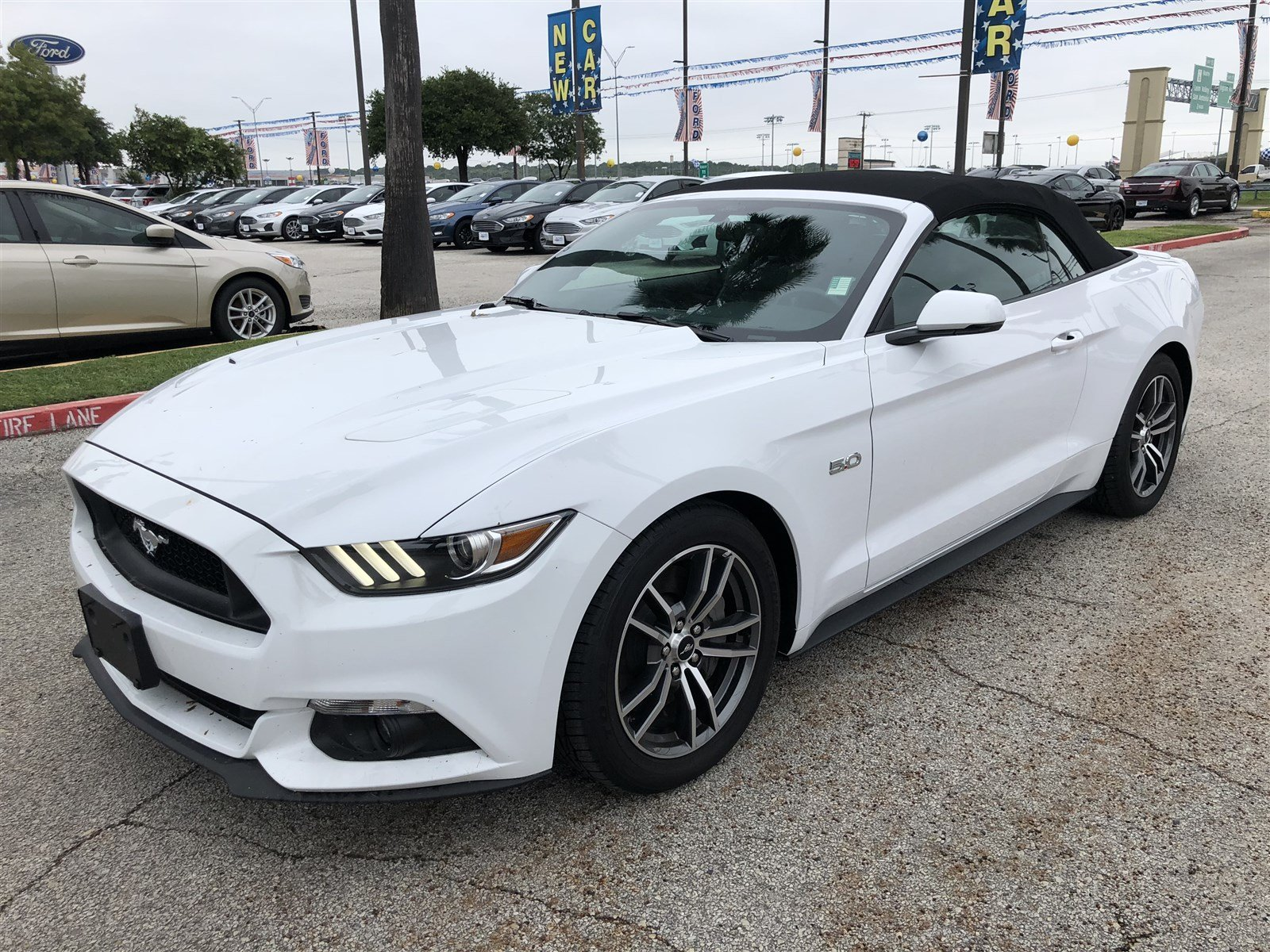 Certified Pre Owned 2017 Ford Mustang GT Premium Convertible in San