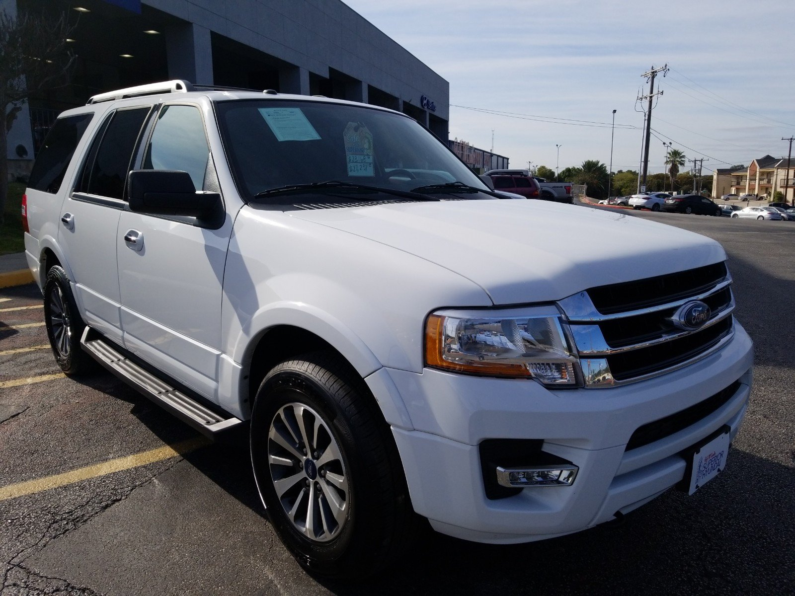 Pre Owned 2017 Ford Expedition Xlt Sport Utility In San Antonio