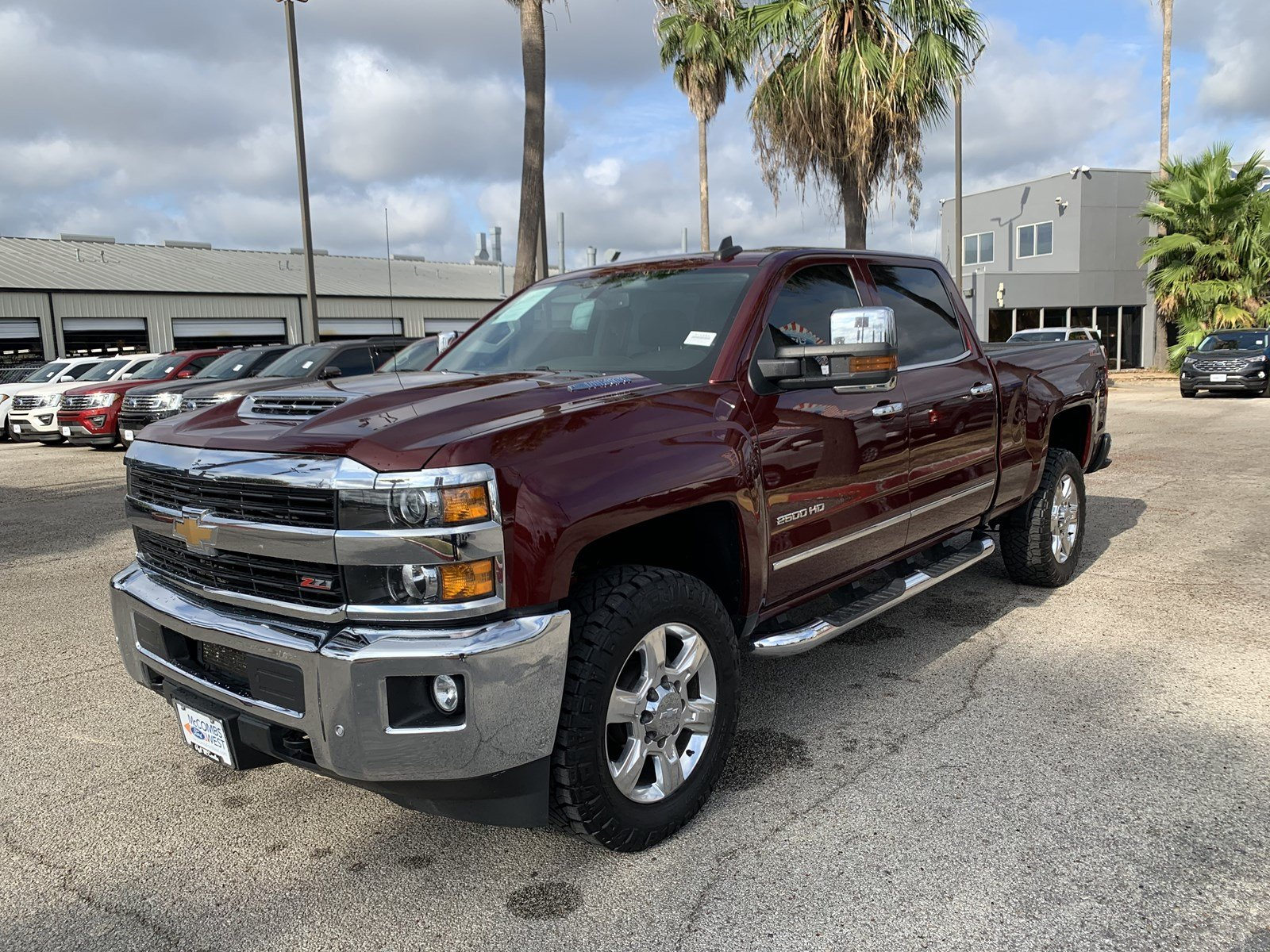 Certified Pre-Owned 2017 Chevrolet Silverado 2500HD LTZ