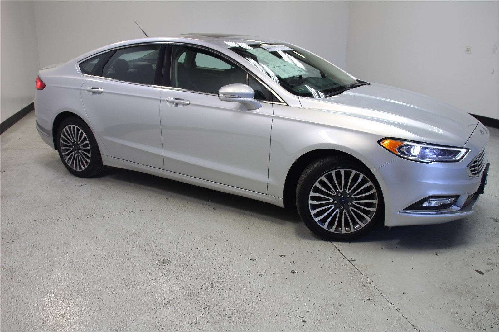 Certified pre owned 2018 ford fusion platinum