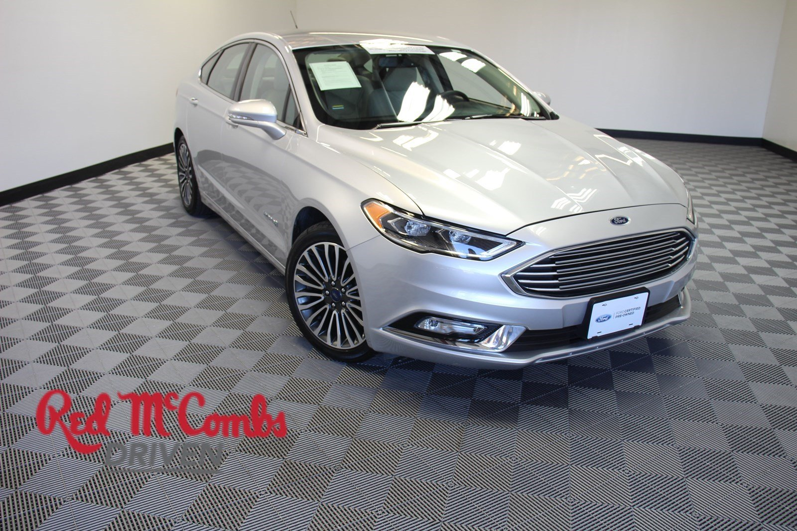 Certified Pre Owned 2018 Ford Fusion Hybrid Anium