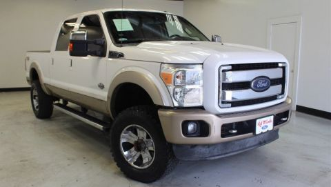 Pre-Owned 2013 Ford Super Duty F-250 SRW Lariat