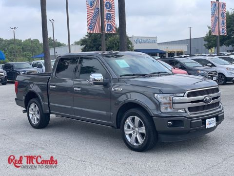Certified Pre-Owned 2018 Ford F-150 Platinum With Navigation