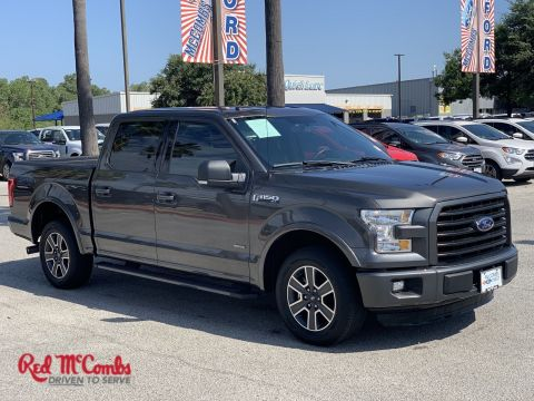Certified Pre-Owned 2016 Ford F-150 XLT RWD Crew Cab Pickup