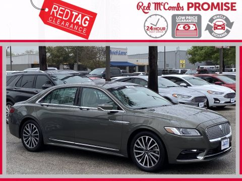 Pre-Owned 2017 Lincoln Continental Select FWD Sedan