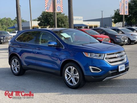 Certified Pre-Owned 2018 Ford Edge Titanium AWD