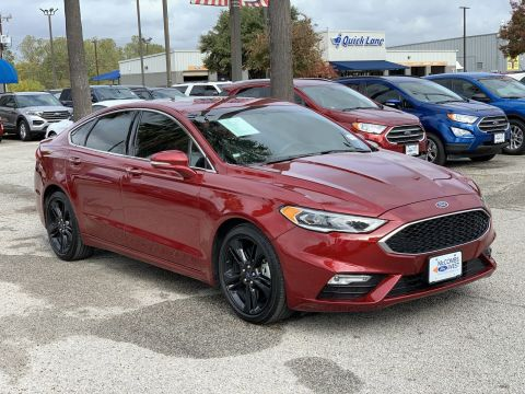 Certified Pre-Owned 2017 Ford Fusion Sport