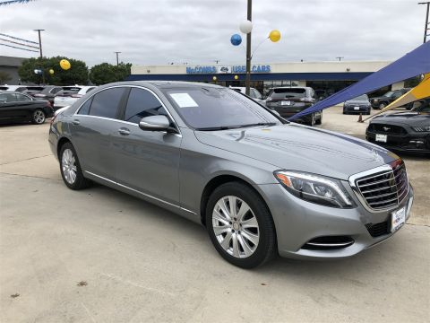 Pre-Owned 2015 Mercedes-Benz S-Class S 550 AWD 4MATIC®